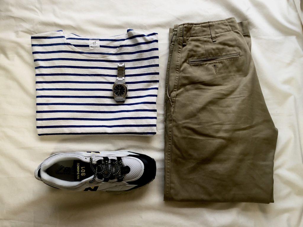 洋服と時計